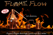 """Flame Flow™"" 20 gallon complete moonshine still"