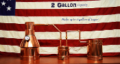 """WAW"" 2 Gallon Complete Copper Moonshine / Liquor Still"