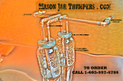 Mason Jar Thumper Package
