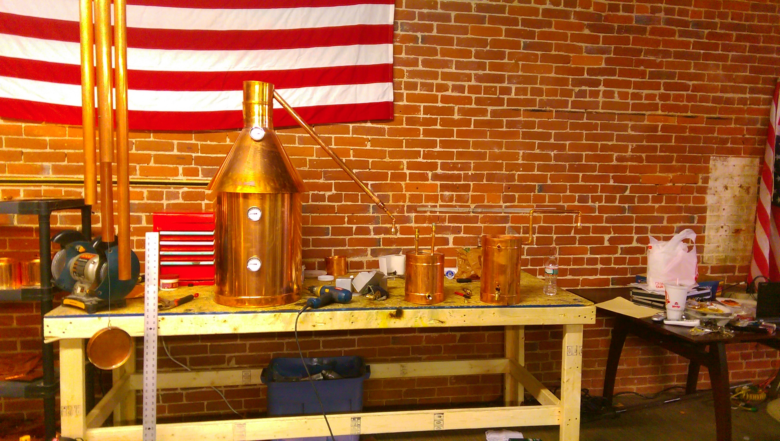 25 gallon moonshine still